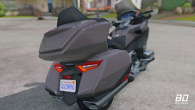 Download mod moto Honda Goldwing DCT 2018 para GTA San Andreas, GTA SA PC