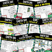 Earth Day Activity, Earth Day Lesson Plans, Earth Day for Middle Schoolers, Earth Day for High Schoolers