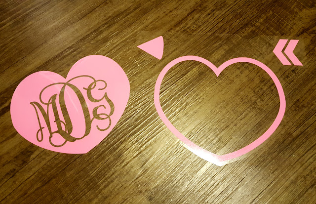 Vinyl, HTV, heat transfer vinyl, cut through carrier sheet, Silhouette tutorial