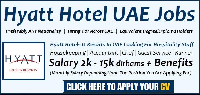 Hyatt Careers & Hotel Jobs Openings joblink