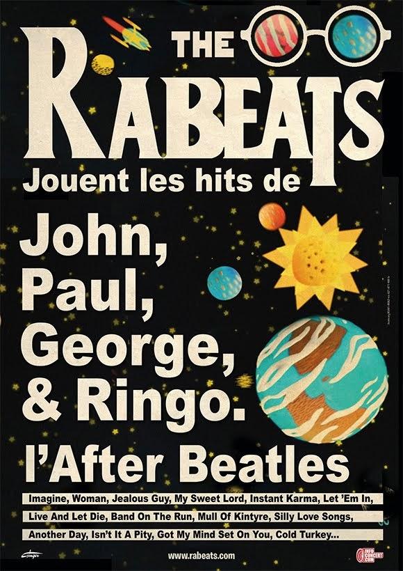 L'After Beatles des Rabeats au festival «Chambray en mai»