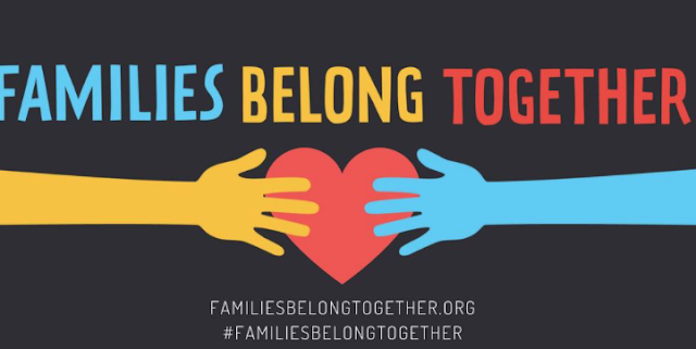 Celebrities show their support for #FamiliesBelongTogether marches