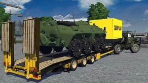 Trailer with Panzer v1.0