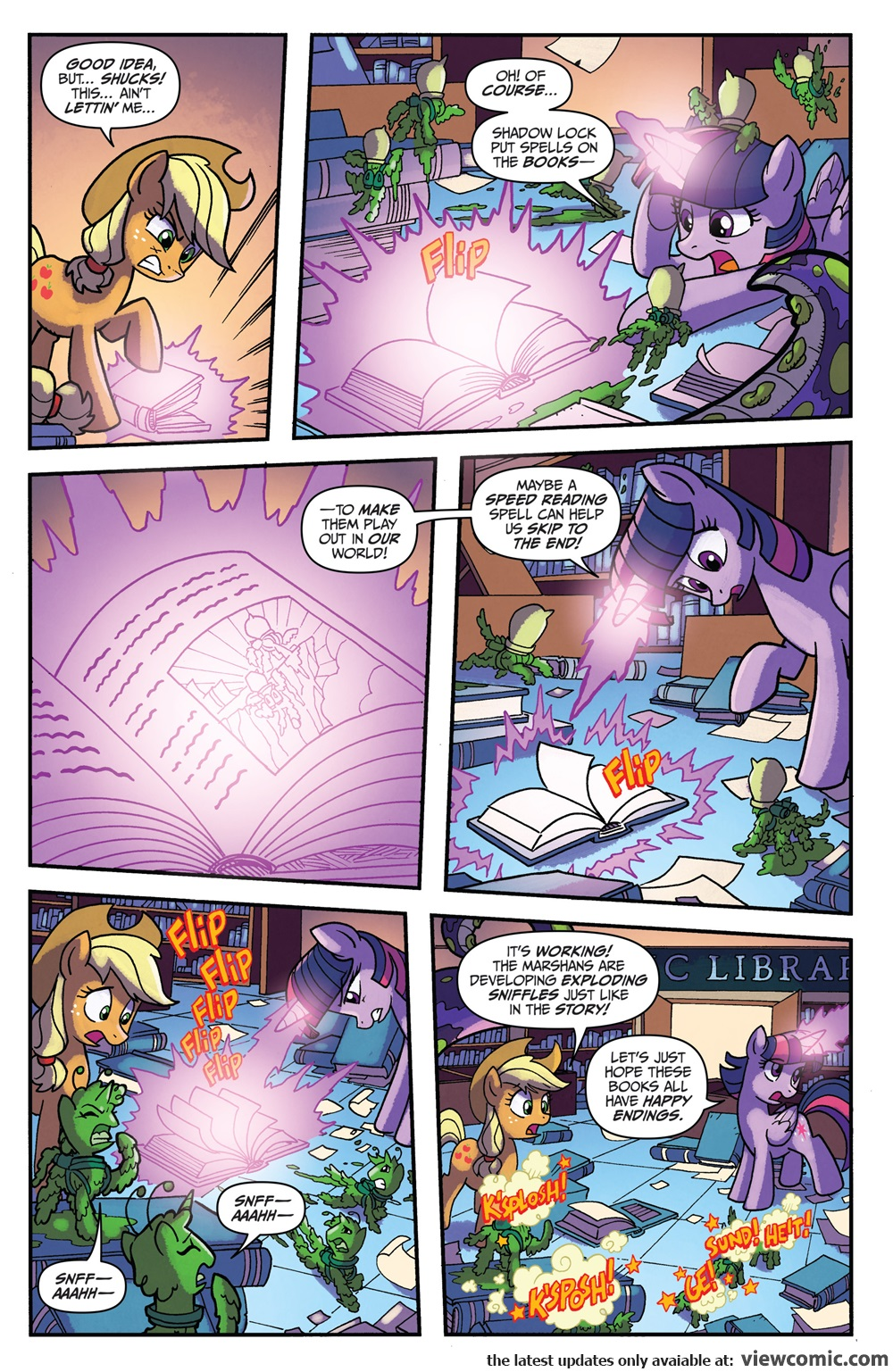 My Little Pony Friendship Is Magic 052 2017 Reading Comics