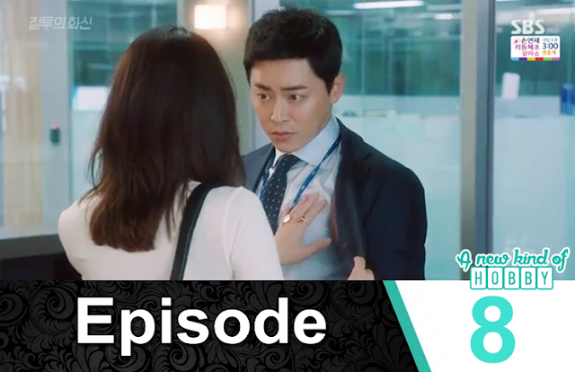 na ri grab hwa shin chest at the station - Jealousy Incarnate - Episode 8 Review