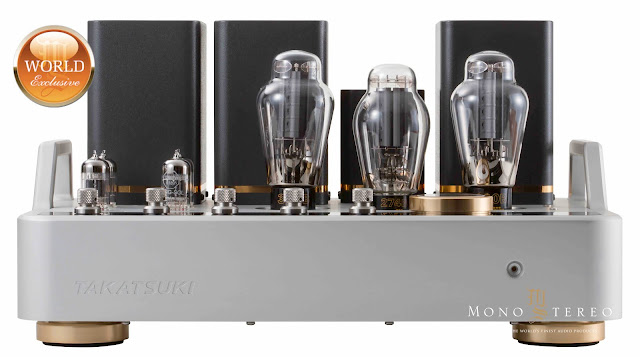 Takatsuki TA-S01 300B (US$50,000) tube amplifier!
