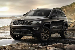 Jeep Grand Cherokee 75th Anniversary (2016) Front Side