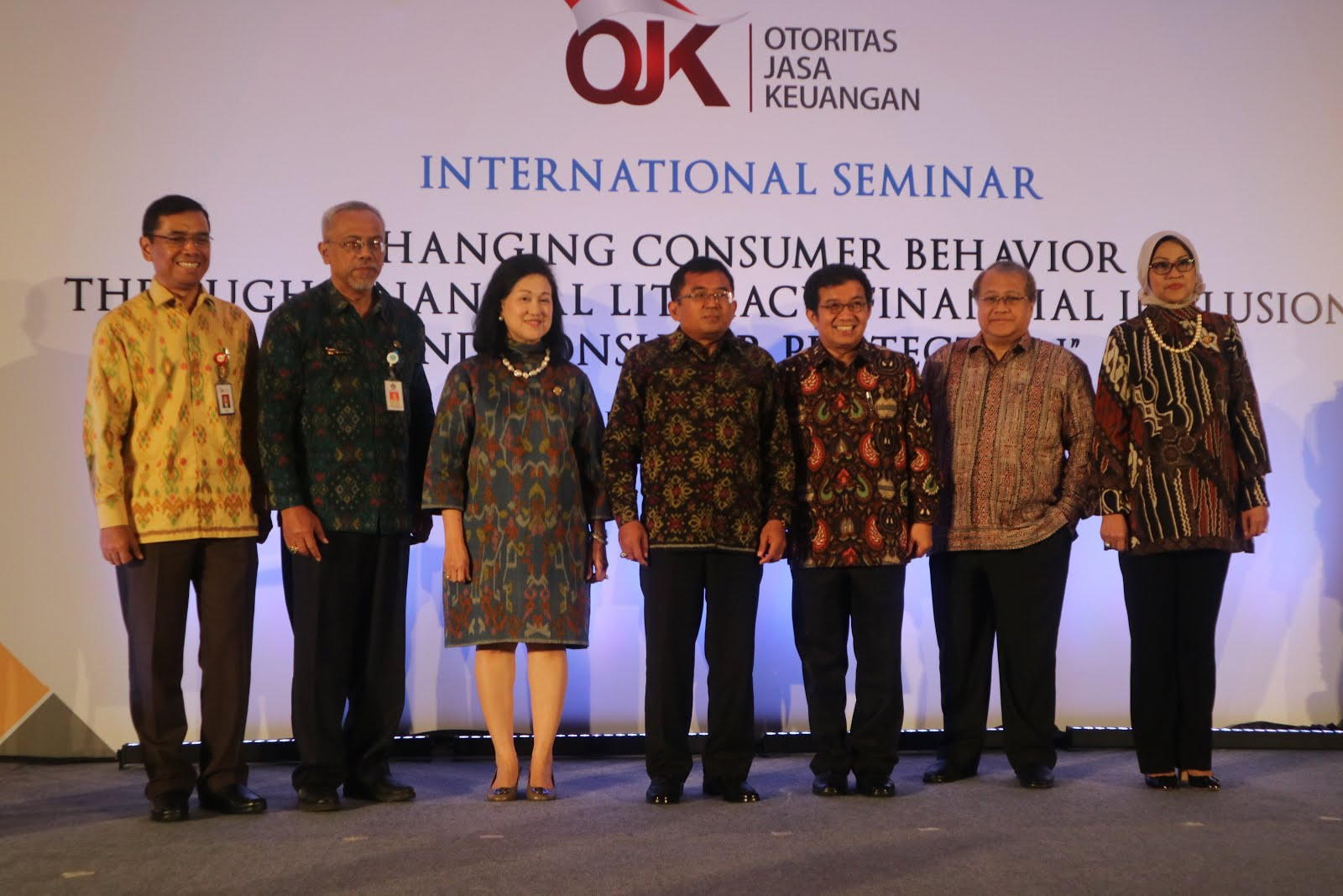 OJK International Workshop on Financial Inclusion, Bali 4-5 May 2017