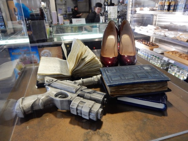 Doctor Who River Song props