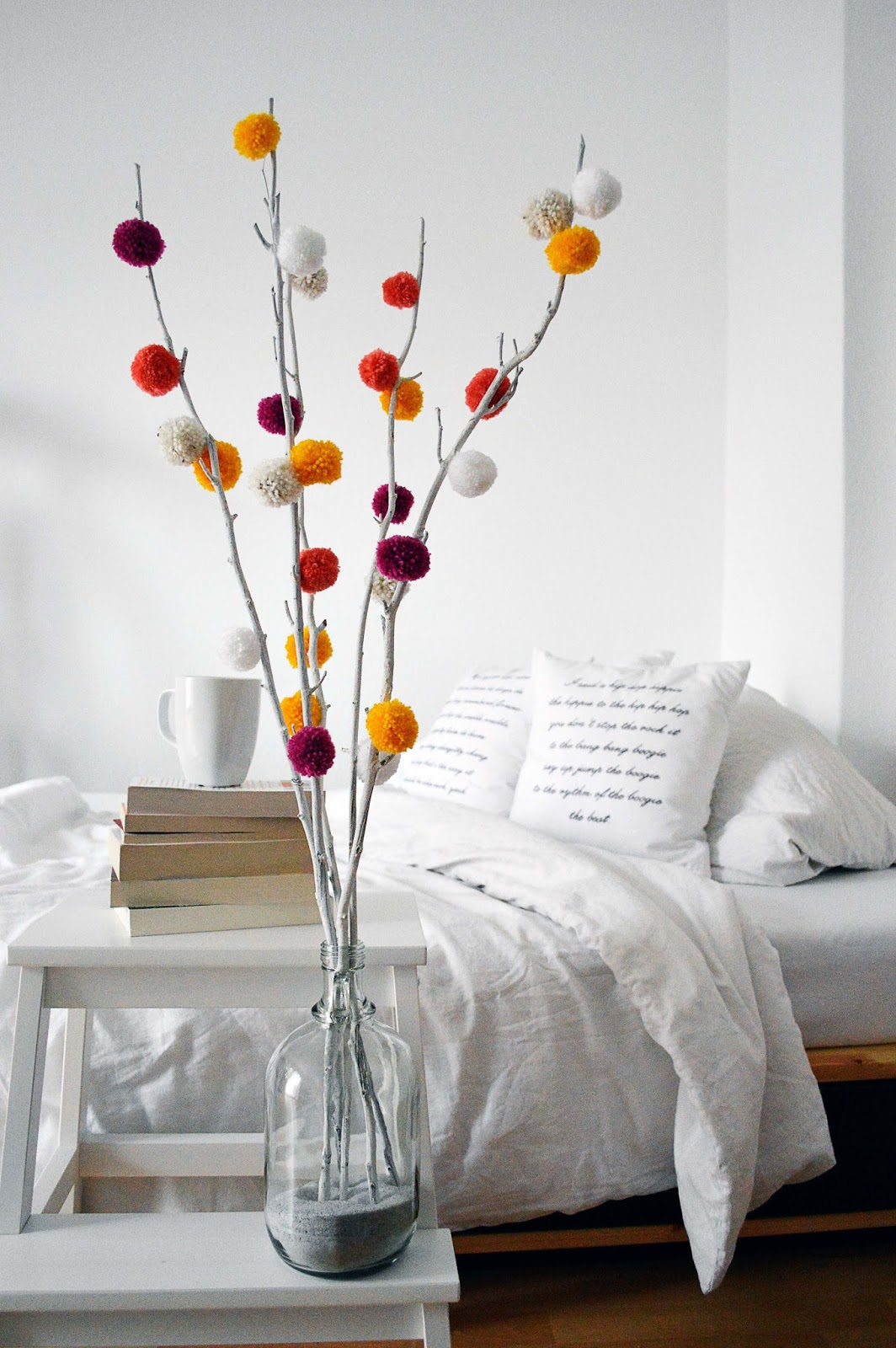 DIY Pom Pom Tree | Motte's Blog