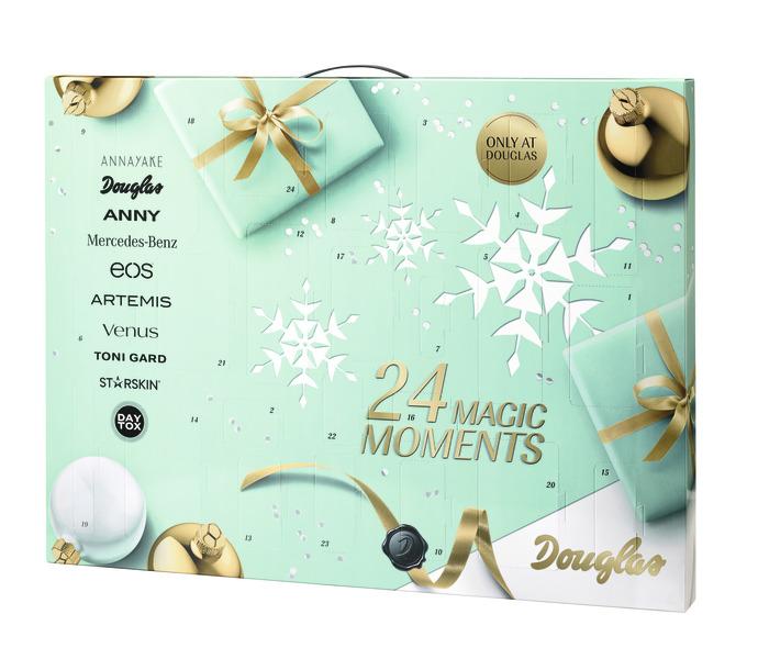 Weihnachtskalender Bei Douglas.Jdorogovich Douglas 24 Magic Moments Adventes Kalendārs
