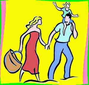 Обыденность семейной жизни в привычках