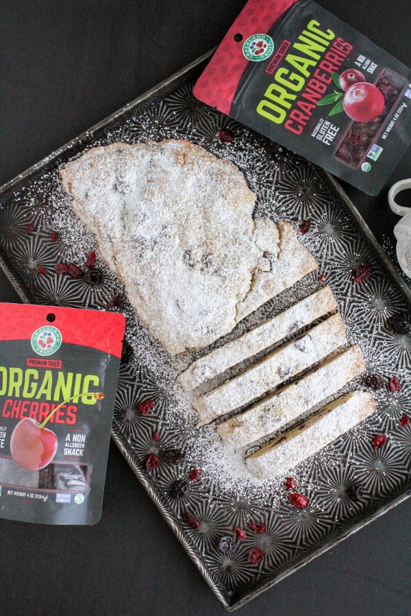 A holiday classic in Germany, this Christmas Stollen Bread is simple to make and is perfect to serve for breakfast on Christmas morning!
