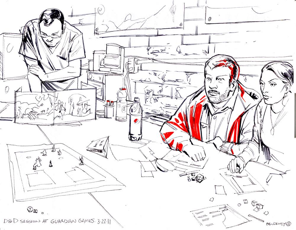 Dewey Draws!: March 2011