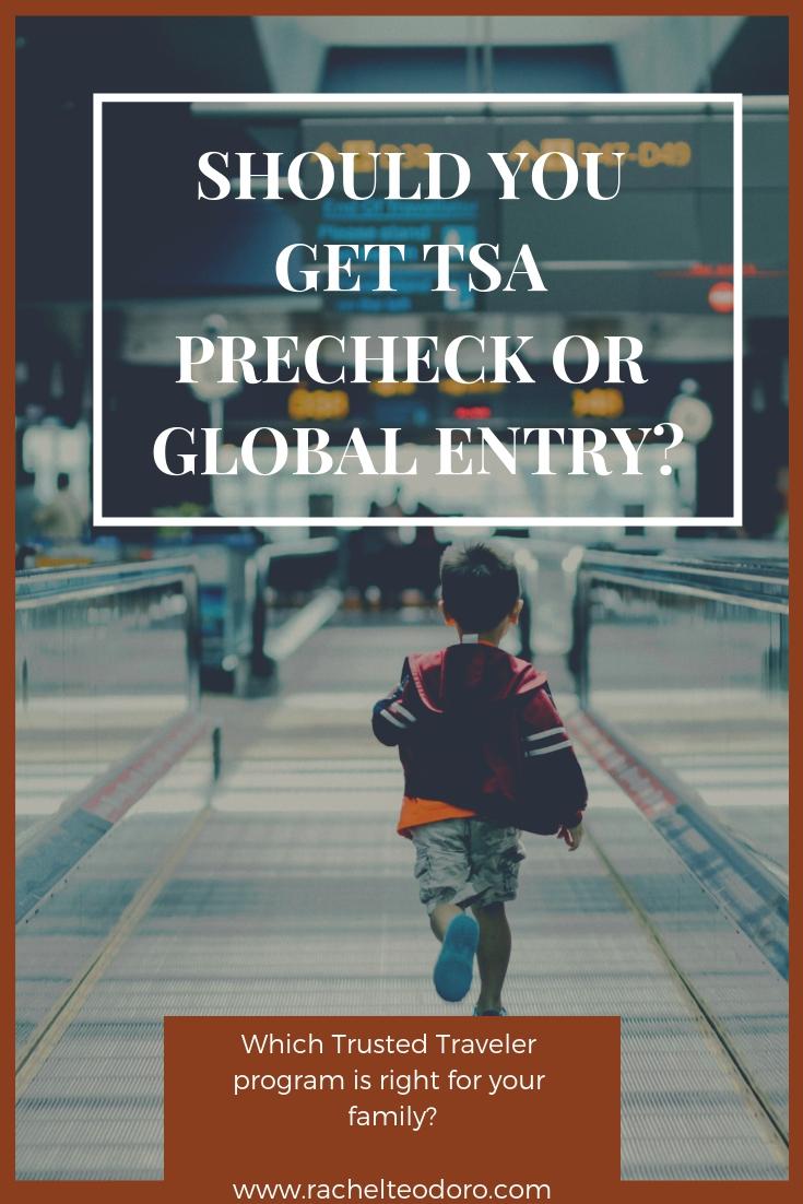kid running through the airport