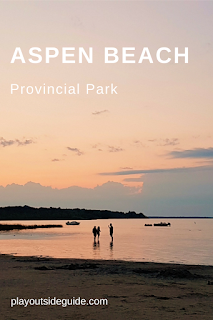 Camping and Beach Fun at Aspen Beach Provincial Park, Alberta