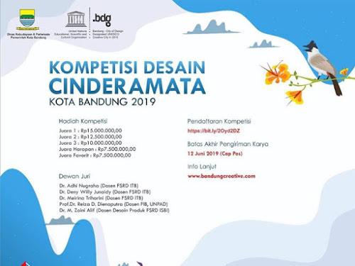 Kompetisi Desain Cinderamata Kota Bandung 2019