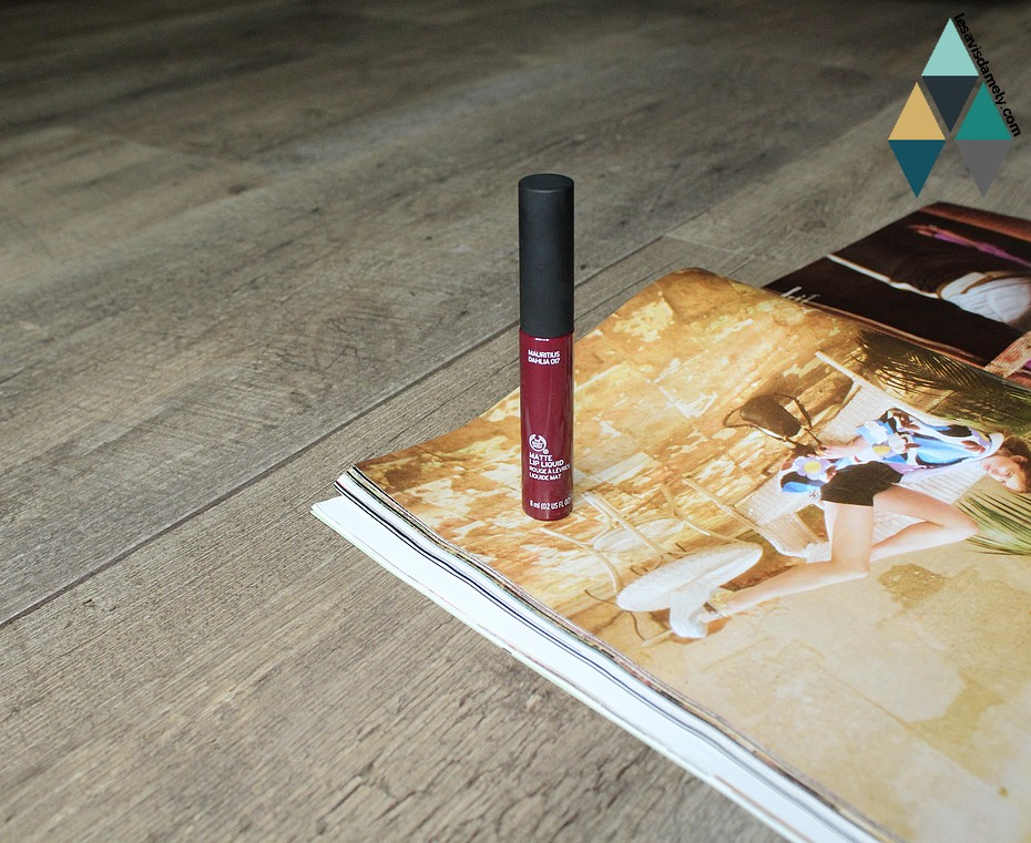 matte lip liquid pourpre violine
