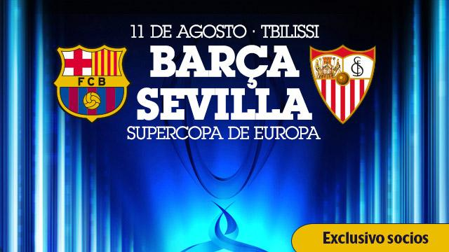 Barcelona x Sevilla - Supercopa UEFA 2015: Data, horário, TV e Local