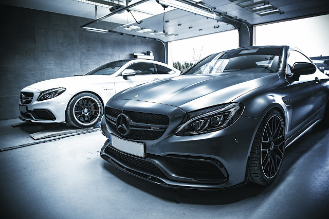 2017 Mercedes-AMG C63 Coupe by Chrometec - #Mercedes #AMG #C63 #Coupe #Chrometec #tuning