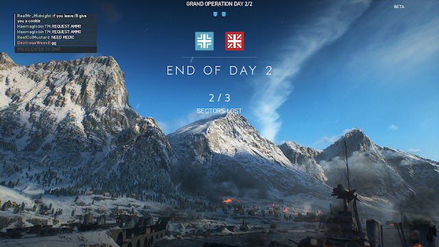 Screenshot from Battlefield V Open Beta