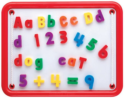 Black Magnetic Letters And Numbers