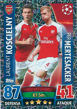 Topps Ligue des Champions 137-Willian-BASE CARD