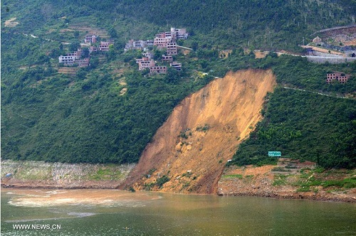 South China landslide disaster