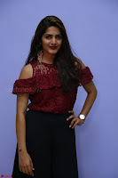 Pavani Gangireddy in Cute Black Skirt Maroon Top at 9 Movie Teaser Launch 5th May 2017  Exclusive 061.JPG