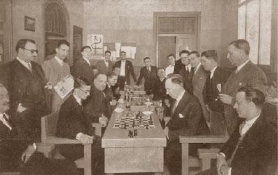 Campeonato de España de Ajedrez de 1930, Ramón Rey Ardid contra Manuel Golmayo