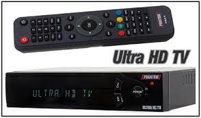 Atualizacao do receptor Phantom Ultra HD V