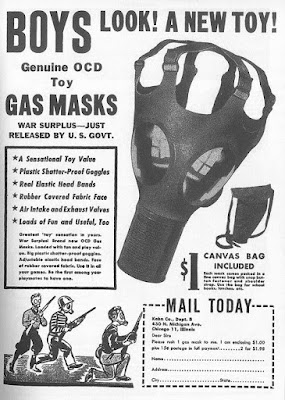 Genuine OCD Toy Gas Masks