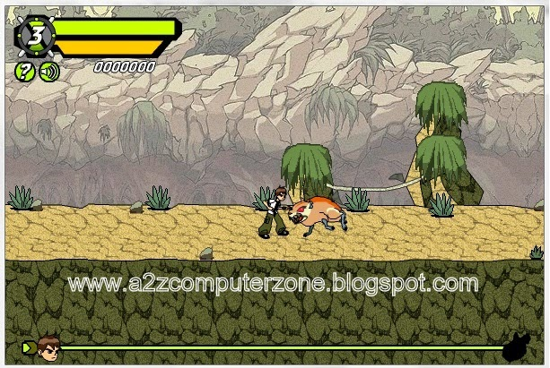 Ben10 Mini Games for PC