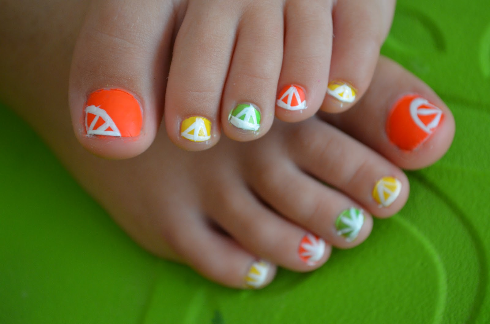 Eautiful nails for your little girl wednesday february 15 2017 prinsesfo Choice Image