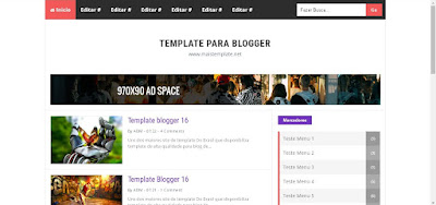 Modelo Perkasa-v2 Mobile Friendly Para Blogger