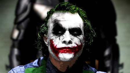 Sarcastic picture from the Joker of Batman,  motivation, Joker's Diary, how preparation is everything.