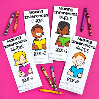 Small group instruction and targeted intervention is known to improve reading comprehension skills. Learn about my Targeted Tri-folds designed for upper elementary students and why teachers love it. These trifolds target ten different reading skills, including main idea, context clues, making inferences, author's purpose, and much, much more!