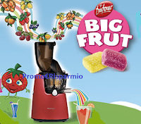 Logo Dufour ''La frutta si diverte'': vinci 20 estrattori di succhi Kuvings