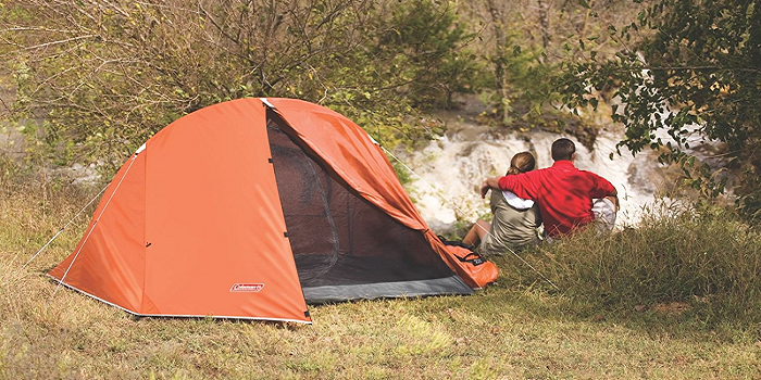 2-person tent u2022 Main fly seams are factory taped u2022 Heavy duty 1000D polyethylene bathtub floor for extra durability and welded leak ... & Top 10 Best 2-Person Camping Tents   TechCinema