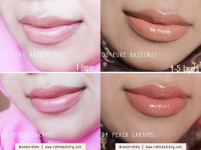 Wardah Nude Lipstick 03 04