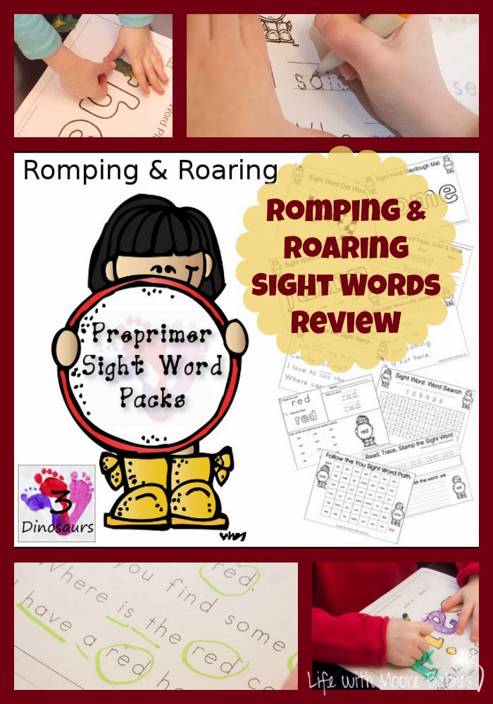 Romping & Roaring Preprimer Sight Words Review