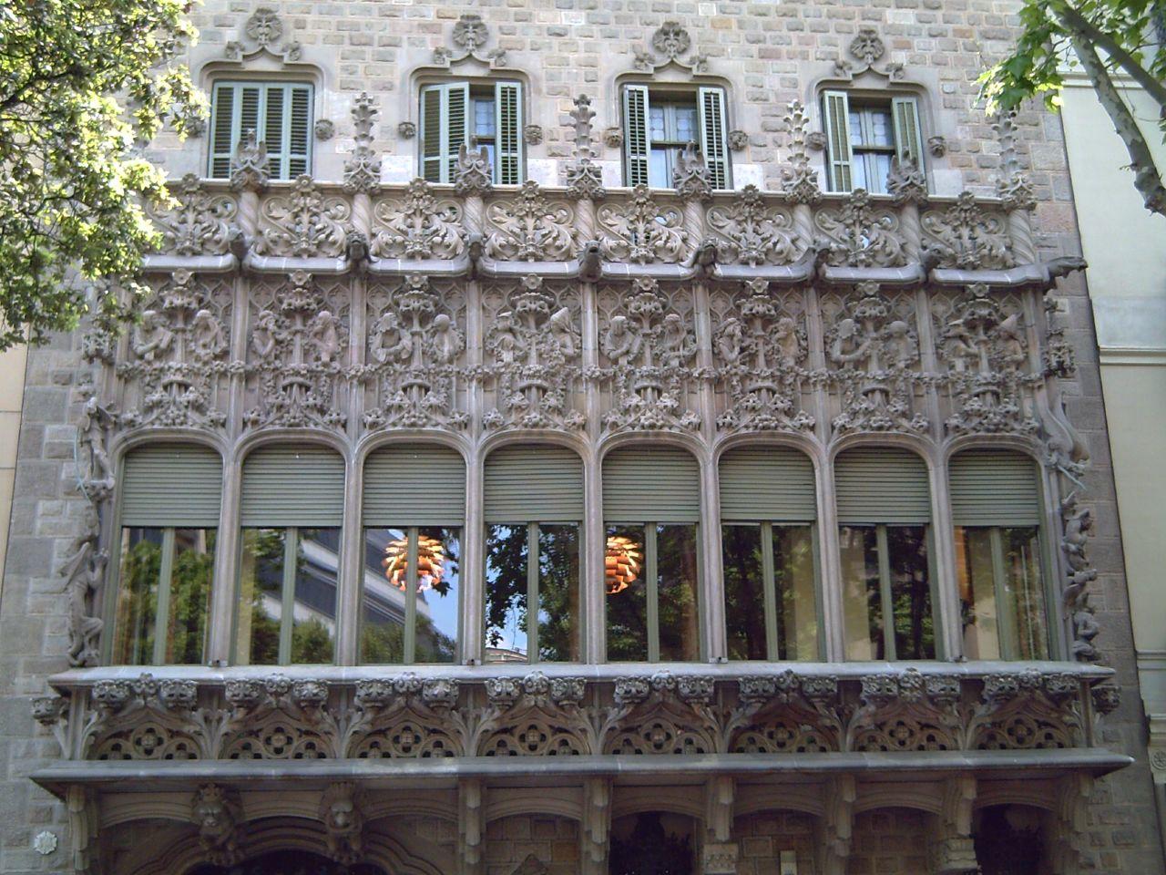Palau del Baró de Quadras by Cadafalch, Barcelona