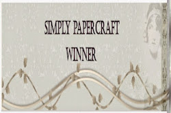 Winner Simply Papercraft challenge nº27