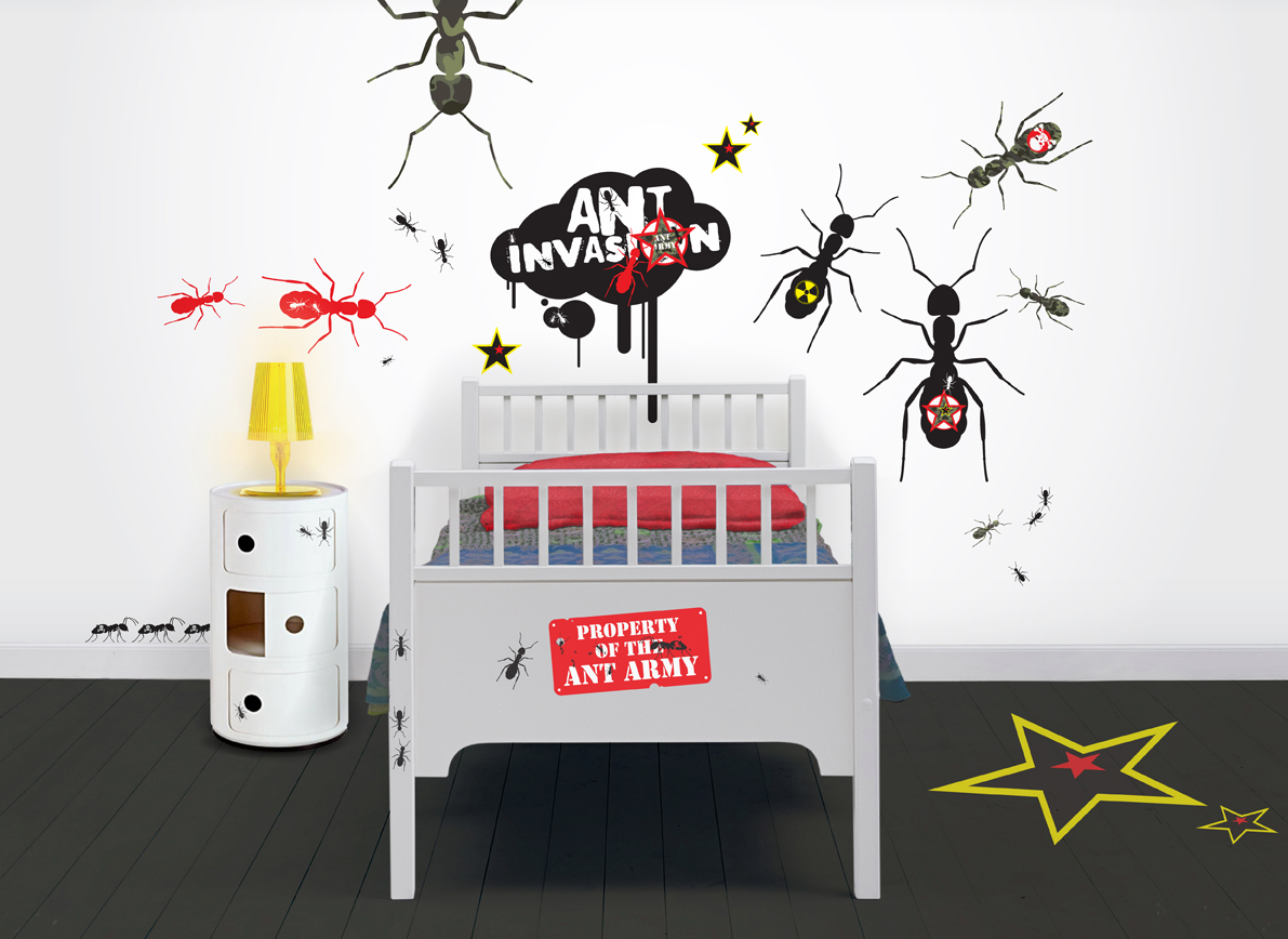 Create a smart cool bedroom space