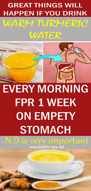 What Happens If You Drink Warm Turmeric Water Every Morning For 7 Days On Empty Stomach#NATURALREMEDIES
