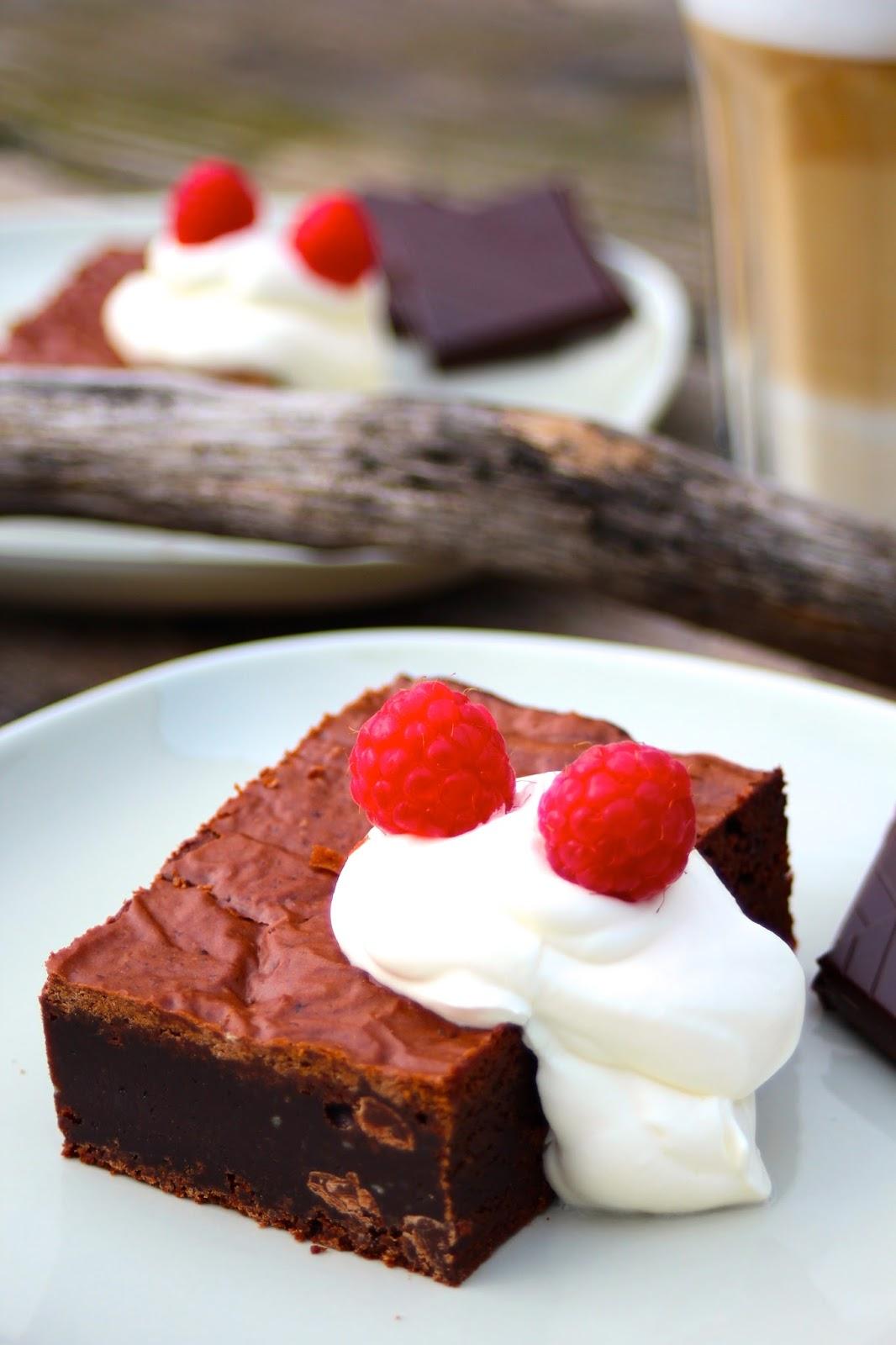 Brownies-ein Originalrezept aus New York!!! - und jede Menge Lindt-Schokolade