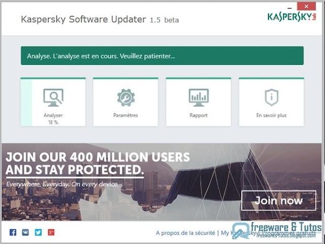Kaspersky Software Updater : un logiciel pour mettre à jour les programmes de votre PC