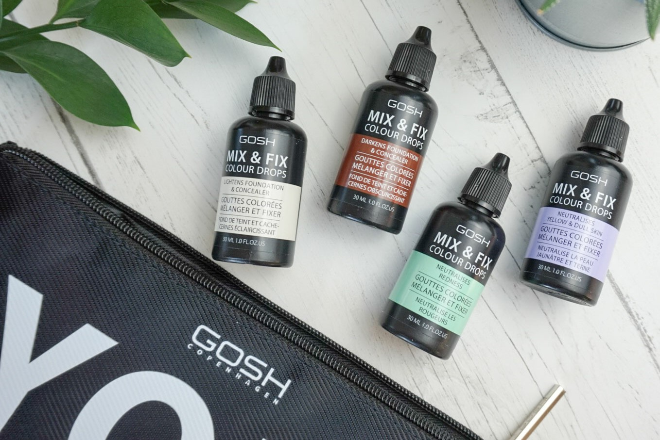 Beauty | New From GOSH - Mix & Fix Colour Drops