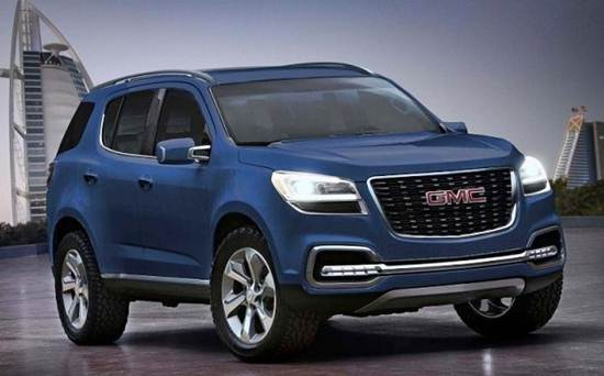 2017 GMC Envoy Redesign