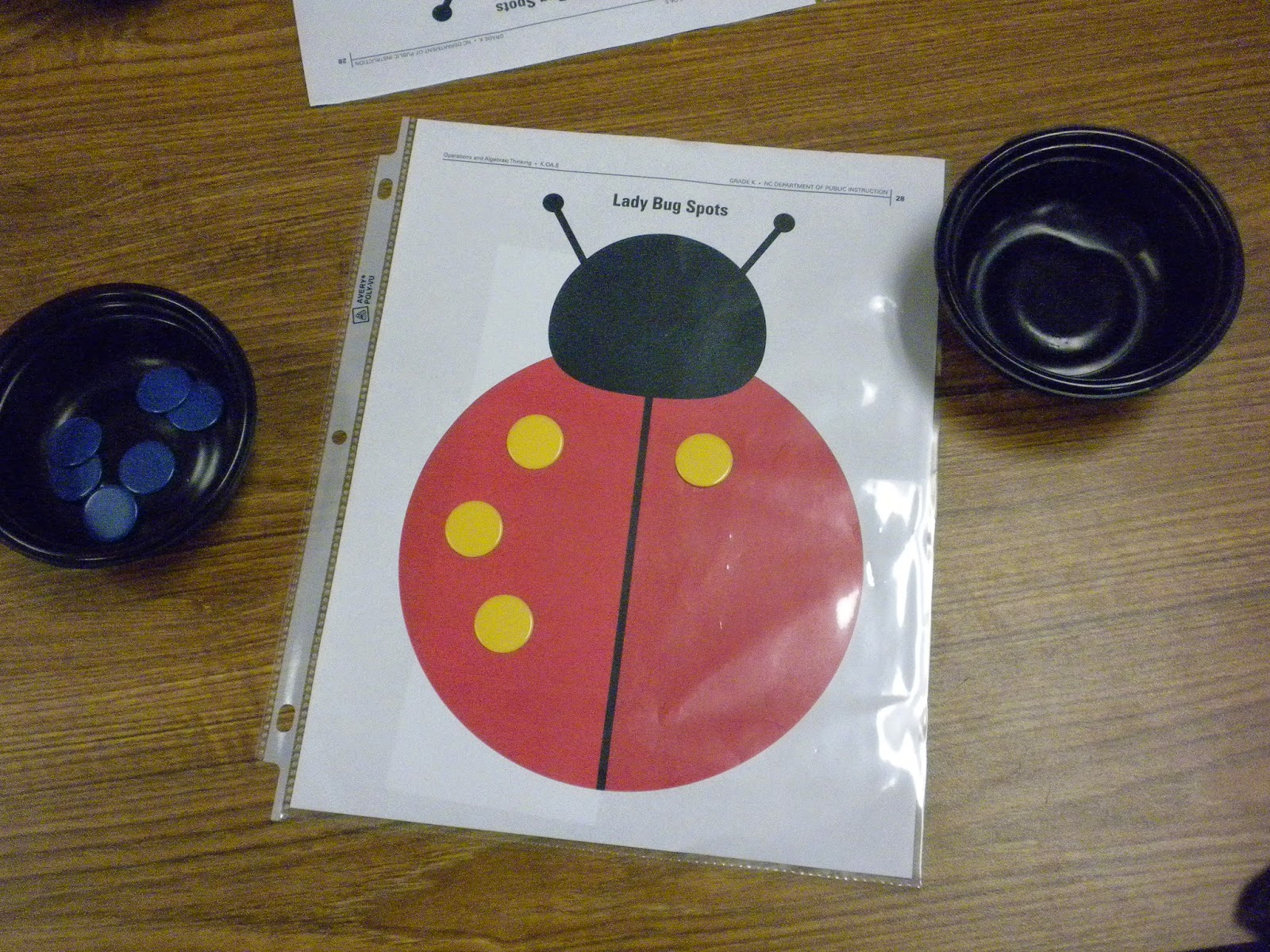 Math Tubs In Kindergarten: Addition. Missing Addends, And